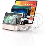 VOGEK USB Ladestation für Mehrere Geräte 5 Ports Handy...