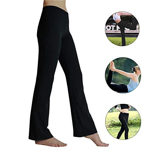 HETAIDA joggingbroek voor dames, sneldrogende sportbroek met verborgen zakken, stijlvolle vrijetijds yogabroek met middelhoge taille voor fitness, ...