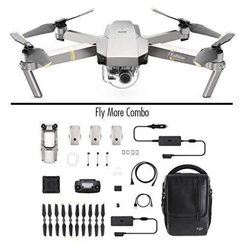 DJI Mavic Pro Platinum Combo - Drohne mit 4K Full-HD Videokamera inkl. Fernsteuerung I 12 Megapixel Bilderqualität und bis zu 7 km Reichweite -...