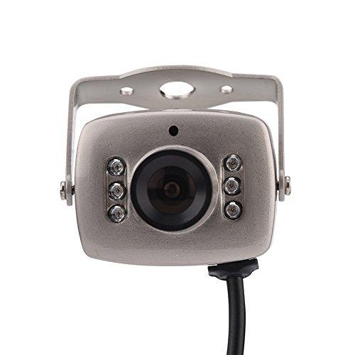 VBESTLIFE Mini Überwachungskamera, 6 LED verdrahtete CMOS CCTV...