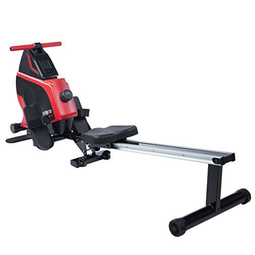 Ultrasport Drafter 600 Rudergerät, Rudermaschine mit Trainingscomputer und 8 Widerstandsleveln, Fitnessgerät, klappbar und platzsparend, diverse...