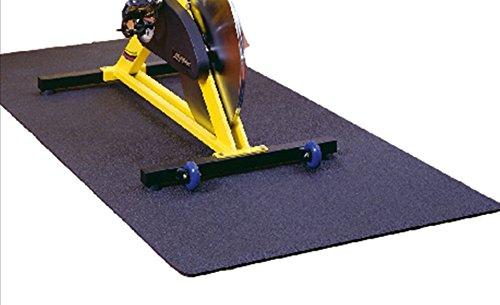 Friedola Uni Sportmatte Unterlegmatte Floor Protect, anthrazit, 70 x 130 x 0,7...