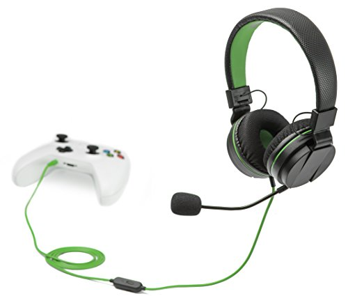 snakebyte Xbox One HEAD:SET X - Stereo Headset zur Verwendung mit sämtlichen Xbox One Konsolen & allen Geräten mit 3,5mm Audioanschluss - 1,2m...