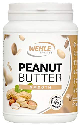 Арахисовое масло Натуральное арахисовое масло без добавок. Арахисовая мука без соли, сахара, пальмового жира - Wehle Sports (Smooth, 1 KG)