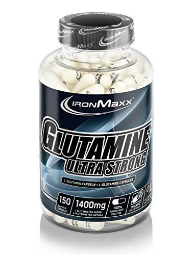 Ironmaxx Glutamine Ultra Strong 150 Capsules, 1er Pack (1 x 0.24 кг)