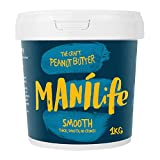ManiLife Peanut Butter - Peanut Butter - All natural, one growing area, without added sugar, without palm oil - Original Roast Smooth - (1 x 1kg)