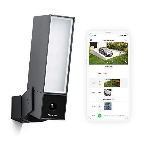 Netatmo Smarte Überwachungskamera Außen, Wlan, Integrierte Beleuchtung ,...