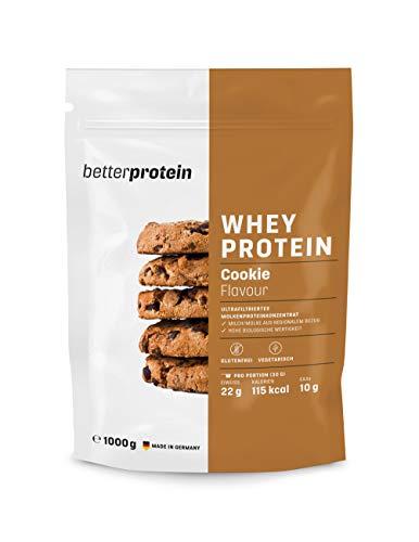Whey Protein - Cookies & Cream 1 kg - Hergestellt in Deutschland aus regionaler...