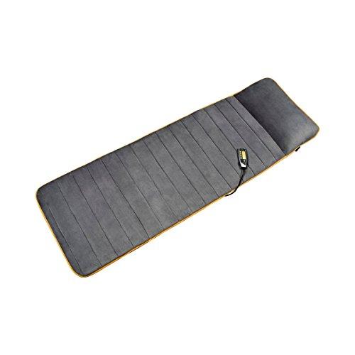 Medisana MM 825 Massagematte elektrisch, Ganzkörper, 5 Programme, 4 Massagezonen, Wärmefunktion, Massageauflage mit Fleece-Bezug, Massageliege mit 2...