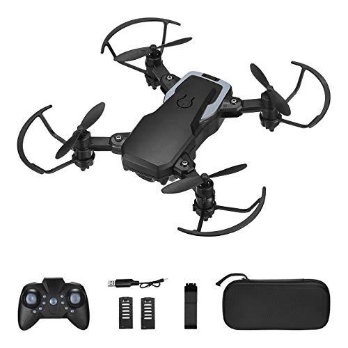Powerextra Mini Drohne mit Kamera - Faltbare Mini-Drohne mit Fernbedienung HD...