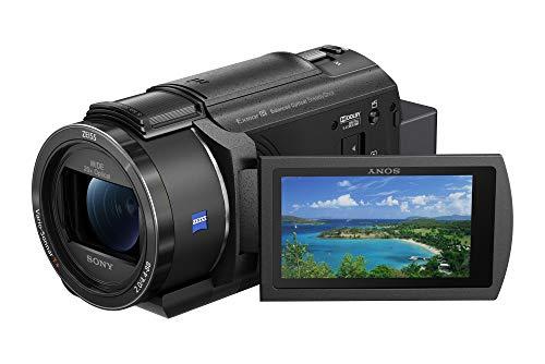 Sony FDR-AX43 4K Camcorder (Exmor R CMOS Sensor, Vario Sonnar T* Zeiss Optik mit...