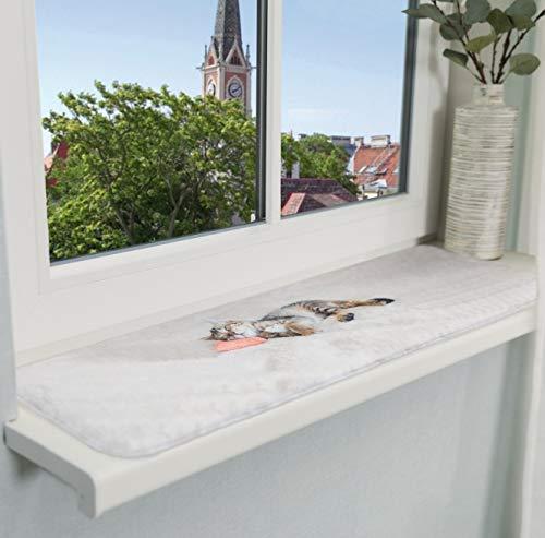 Trixie 37125 Liegematte Nani für Fensterbank, 90 × 28...