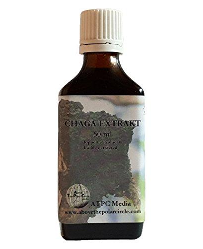 Chaga Extrakt in Tropfenform 50ml – ohne Zusatz von Alkohol