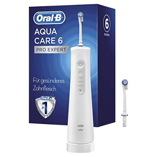 Oral-B AquaCare 6 Pro-Expert Kabellose Munddusche für eine sanfte Reinigung der...