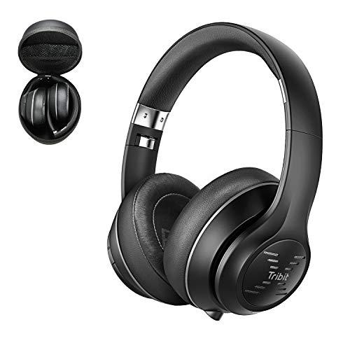 Bluetooth Kopfhörer Over-Ear, Tribit XFree Tune Bluetooth-Kopfhörer,Kabellose...
