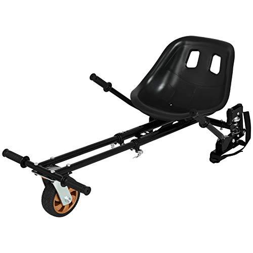 Uenjoy Verstellbarer Hoverboard-Sitzaufsatz Go-Kart-Zubehör, Kart-Rahmen,...