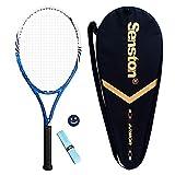 Senston women / men tennis racket Tennis racket set with tennis bag, overgrip, vibration damper