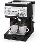 Cafetera espresso homever con portafiltro, espresso 15 bar ...