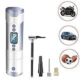 Digital luftpumpe 12V I50PSI, Bainuojia elektrisk luftpumpe LCD-skjerm ...