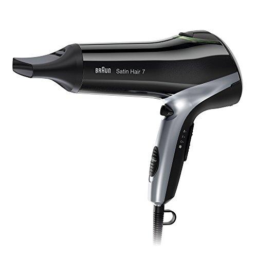 Braun Satin Hair 7 Haartrockner HD 730, mit IonTec, Stylingdüse und Diffusor,...