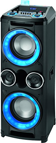 AEG EC 4836 Mobiles Musiksystem mit Bluetooth, 2x USB-Port, 5-Band-Equalizer,...