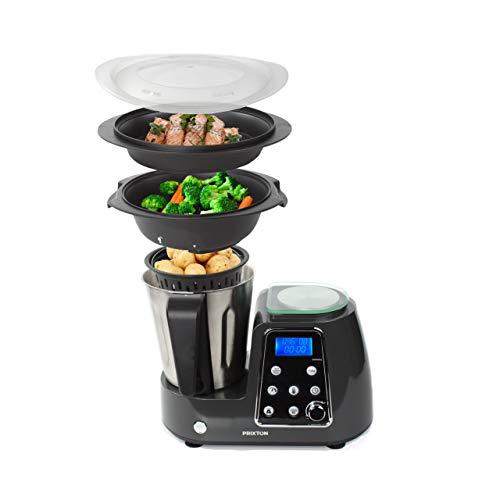 PRIXTON - Programmierbarer Kochfunktion-Küchenmaschine: Mischen, Schlagen,...