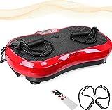 MVPower Vibrationsplatte extra groß Slim und rutschfest,...