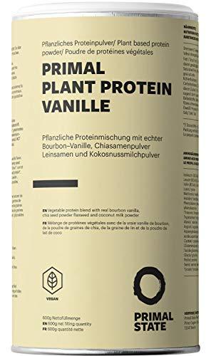 Pflanzliches Proteinpulver - Natürlicher Vanille Geschmack - Lupinenprotein,...