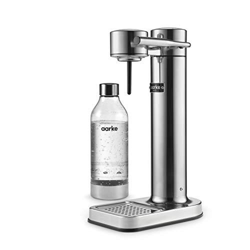 Aarke Carbonator II Wassersprudler (Edelstahl Gehäuse, Soda Sprudelwasser,...