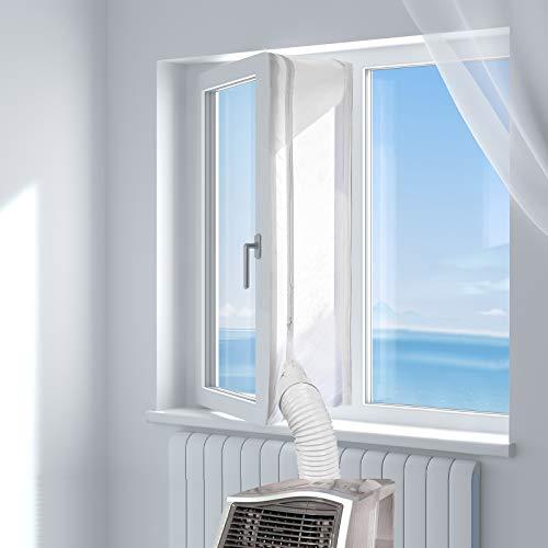 HOOMEE Fensterabdichtung für Mobile Klimageräte, Klimaanlagen,...