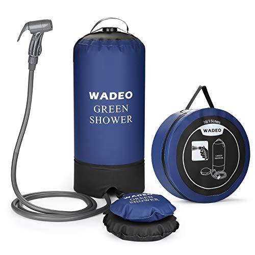 kampierende Duschekopf-Steck Bewegliche Dusche Camping Dusche Zooma Outdoor Dusche Campingdusche mit Tauchpumpe