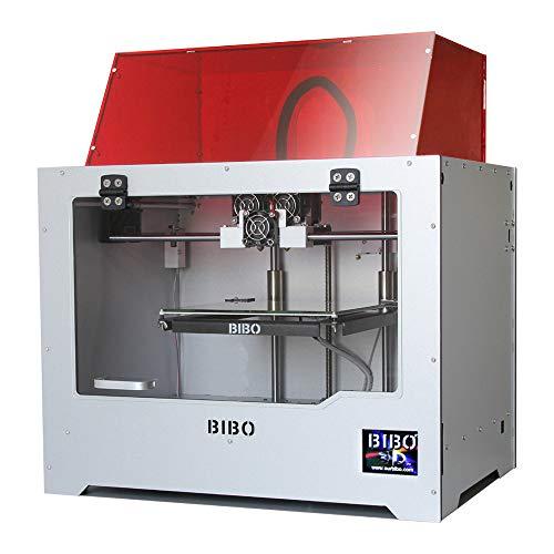 BIBO 2 3D Drucker Mit Gravurmodul Stabiler Rahmen Dual Extruder WIFI Touchscreen...