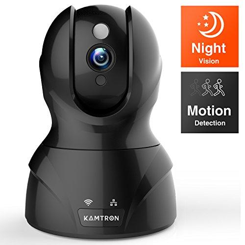 Wlan IP Kamera,KAMTRON HD WiFi Überwachungskamera,mit...