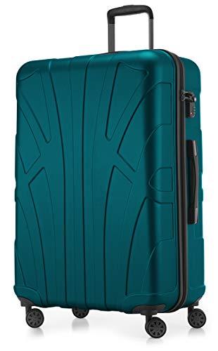 Suitline großer Hartschalen-Koffer Koffer Trolley Rollkoffer XL Reisekoffer,...
