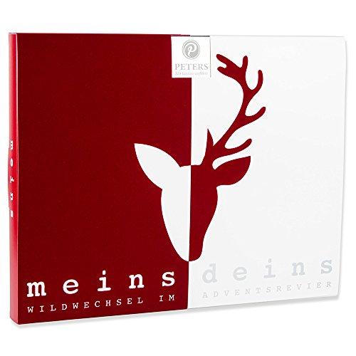 Peters Adventskalender 'meins & deins' Pralinen, 1er Pack (1...
