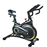 Latest exercise bike for home with magnetic brake system, professional indoor cycle ergometer ...