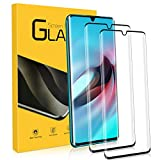 NONZERS tempered glass for Xiaomi Mi Note 10 / Note 10 Pro / CC9 Pro, [2 pieces] 9H degree of hardness, 3D round edge full coverage HD clear screen protector, ...