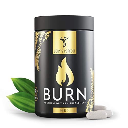 BODY'S PERFECT® BURN Kapseln entwickelt für Männer, mit 20 Inhaltsstoffen,...