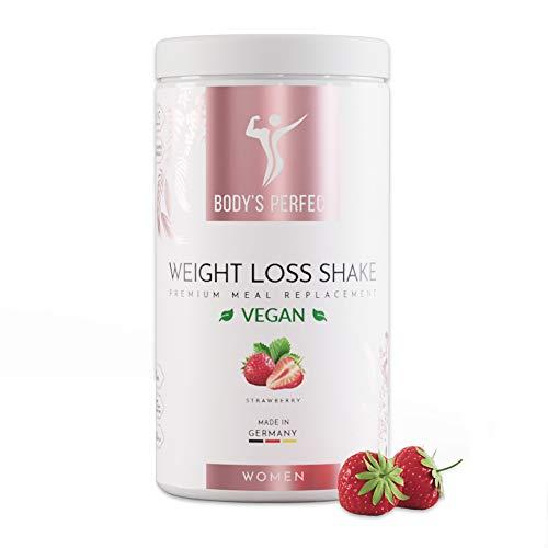 BODY'S PERFECT® Weight Loss Shake Vegan für Frauen, Diät Shake zur...