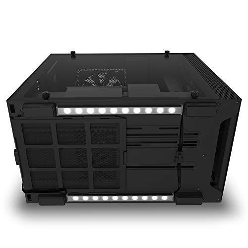 NZXTHUE2Underglow-Zubehör - Zwei RGB-LED-Streifen mit 300mm - 15LEDs pro Streifen - CAM-Unterstützung - Immersives...