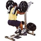 BODY-SOLID GSCL-360 bein trener, knebøy og legg maskin, kalv extensor ...