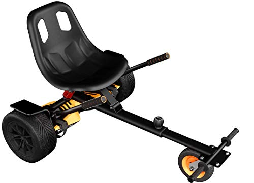 Wheelheels Premium Hovercart, Gefedertes Hoverkart für Hoverboards,...