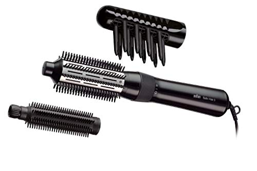 Braun Satin Hair 3 Airstyler Warmluft-Lockenbürste AS330, mit 3...