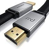 CSL - 8k HDMI 2.1 кабель 7,5 м - плоский ленточный кабель - 2k 4k 8K -...
