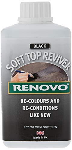 Renovo International Soft Top Reviver, Black, 500 ml