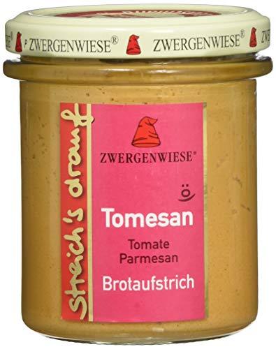 Zwergenwiese Bio Aufstrich streichs drauf Tomesan (Tomate-Parmesan), 160 g