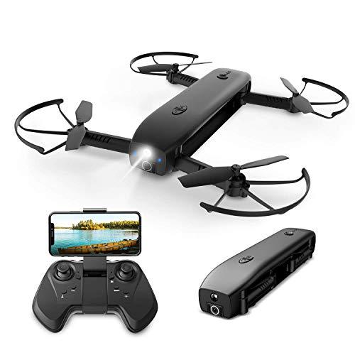 Holy Stone HS161 FPV Faltbare Mini Drohne mit 1080P Kamera FHD Live Übertragung für Kinder,RC Quadrocopter ferngesteuert mit Langer Flugzeit,Handy...