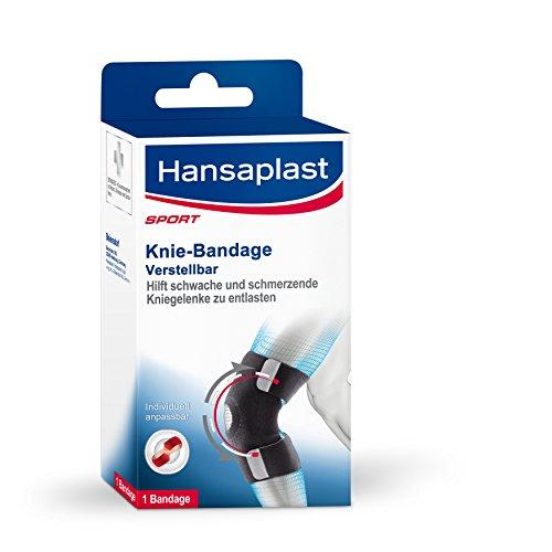 Hansaplast Kniebandage, Knie Sportbandage zur Vorbeugung von Verletzungen,...