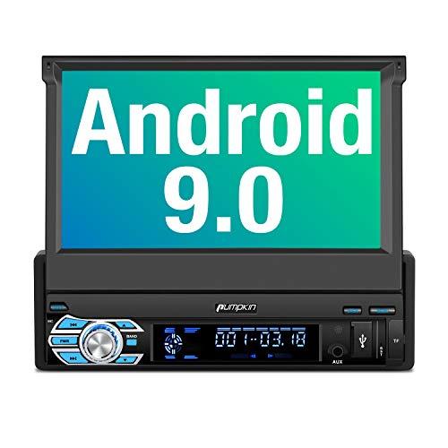 PUMPKIN Android 8.1 Autoradio Moniceiver mit Navi 10,1 Zoll Bildschirm Unterst/ützt Bluetooth DAB USB Android Auto WLAN 4G MicroSD 2 Din Universal