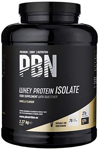 Premium Body Nutrition - Whey-ISOLAT-Pulver, 2,27kg,...
